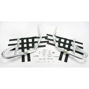 Motorsport Products Alloy Nerf Bars w/Black Webbing - 81-1401