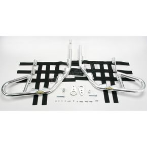 Motorsport Products Alloy Nerf Bars w/Black Webbing - 81-2101