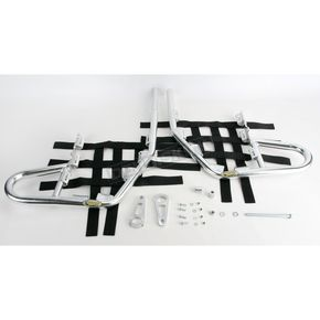 Motorsport Products Alloy Nerf Bars w/Black Webbing - 81-3201