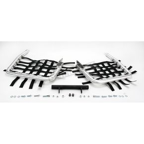 DG Fat Series 1 1/2 in. Alloy Nerf Bars w/Black Webbing - 602-6140
