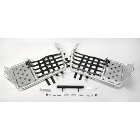 Moose Alloy Nerf Bars with Heel Guards - 05300460