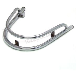 Scooter Works Chrome Front Fender Rail - 02000011