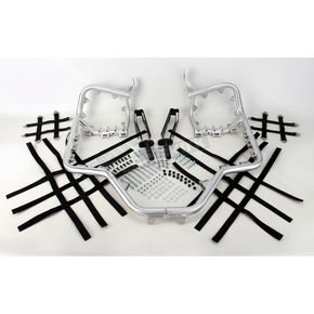 Pro Armor Aluminum Nerf Bars w/Net Heel Guards - H042078