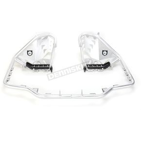 Pro Armor Aluminum Revolution Nerf Bars w/Plate Heel Guards - S061078