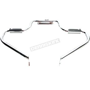 Lindby Custom The Multibar Chrome Highway Bar w/Rubber Footrests - 13608