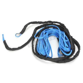 Moose Blue 1/4 in. x 50 ft. Synthetic Winch Rope - 4505-0574