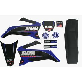 BBR Motorsports Complete Graphics Kit with Seat Cover - 710-YTR-1121