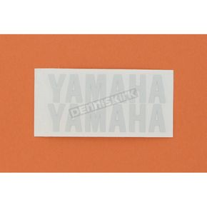 Stickerpoint Yamaha Reflective White Sticker - 109804