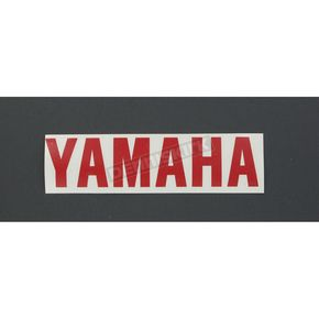 Stickerpoint Red Yamaha Sticker - 107164