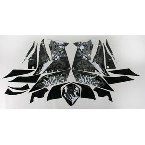 Face Lift Unlimited Sportbike Black/White Graphic Kit - 60106