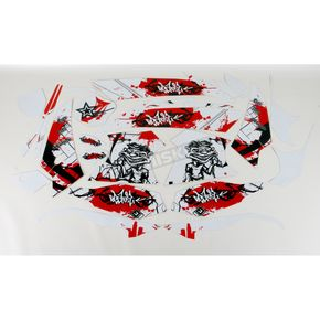 Face Lift Unlimited Sportbike White/Red Graphic Kit - 60204