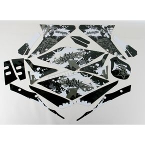 Face Lift Unlimited Sportbike Black/White Graphic Kit - 60208