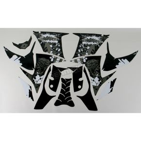 Face Lift Unlimited Sportbike Black/White Graphic Kit - 60306