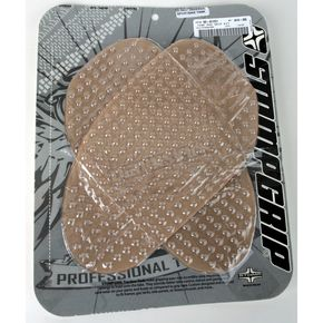 Stompgrip Universal Clear Sportbike Traction Pad Kit - 55-10001