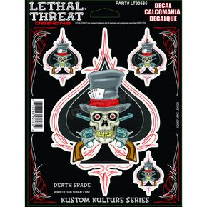 Lethal Threat Death Spade Decal - 1600-0126