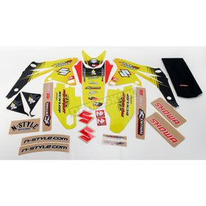 N-Style Super Stock Graphics and Seat Cover - N40-4601