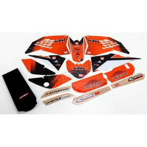 N-Style Super Stock Graphics and Seat Cover - N40-5603