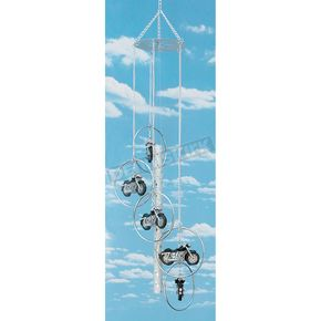 Mustang 5-Ring Wind Chime - 63524