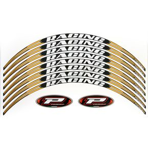 Pro Grip Yellow 5026 Wheel Strip Kit - 5026YL