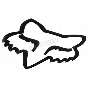 Fox White 7 in. Big FoxHead Sticker - 14423-008-NS