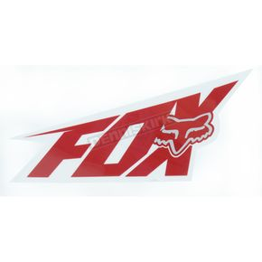 Fox Red 4 1/2 in. Superfast Sticker - 14484-003-NS