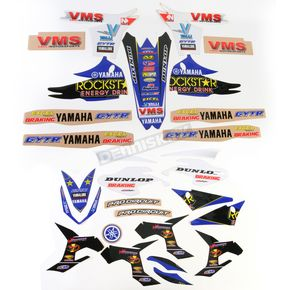 N-Style Team Valli Motorsports Graphics Kit and Seat Cover - N402632