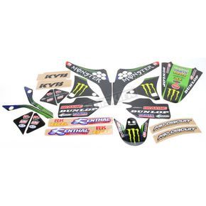 N-Style Team Green Graphics Kit and Seat Cover - N403634