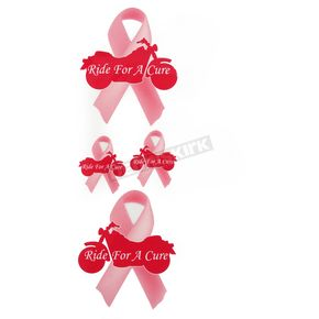 Lethal Threat Ride for the Cure Decal Set - LT00534