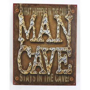 Mustang Man Cave Parking Sign - 65213