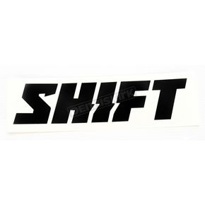 Shift Black 6 in. Word Die Cut Sticker - 14524-001-NS