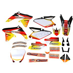 Pro Circuit Complete Graphic Kit w/Seat Cover - DS12450