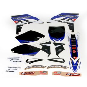 Pro Circuit Complete Graphic Kit w/Seat Cover - DY12250