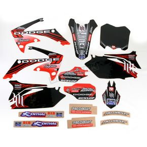 N-Style Black Hart & Huntington Race Team Graphics Kit w/Seat Cover - N401659