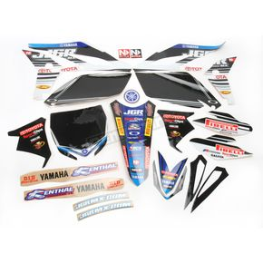 N-Style Black JGR Race Team Graphics Kit w/Seat Cover - N402681