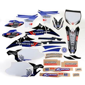 N-Style White Hart & Huntington Race Team Graphics Kit w/Seat Cover - N40-2687