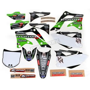N-Style White Hart & Huntington Race Team Graphics Kit w/Seat Cover - N403674