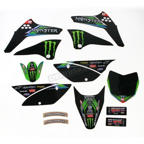 Pro Circuit Complete Graphic Kit w/Seat Cover - DK12110T