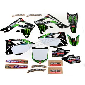 Pro Circuit Complete Graphic Kit w/Seat Cover - DK12450T