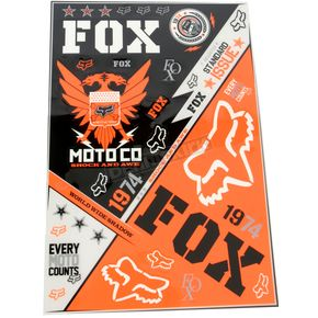 Fox Covert Sticker Sheet  - 06235-000-NS