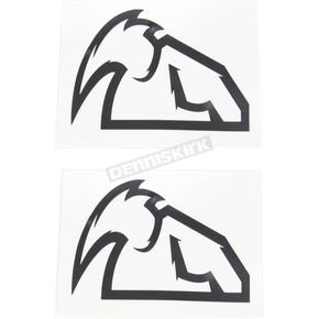 Thor Black Diecut Decals - 4320-1515