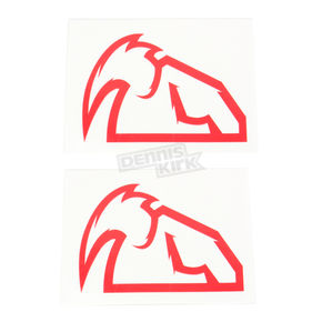 Thor Red Diecut Decals - 4320-1516