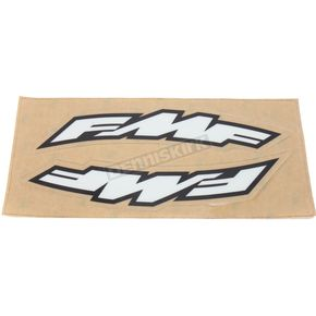 FMF Small Arch FMF Logo Fender Sticker  - 010604