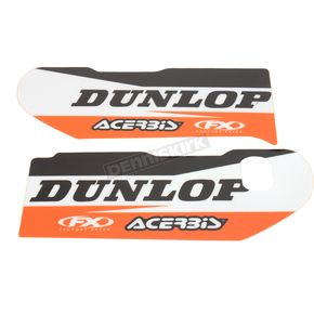 Factory Effex KTM Sponsor Logo Lower Fork Guard Graphics - 17-40566