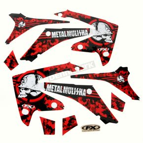 Factory Effex Metal Mulisha Graphics Kit - 18-11336