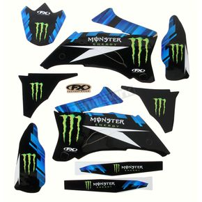 Factory Effex Monster Energy Graphics Kit - 18-02224
