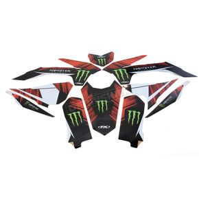 Factory Effex Monster Energy Graphics Kit - 18-02530