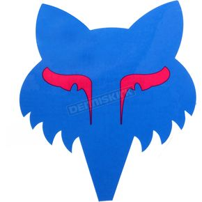 Fox Cyan Legacy Head Sticker - 14906-189-OS