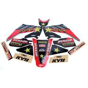 Factory Effex Red Honda Rockstar Energy Shroud and Complete Graphics Kit - 19-07320