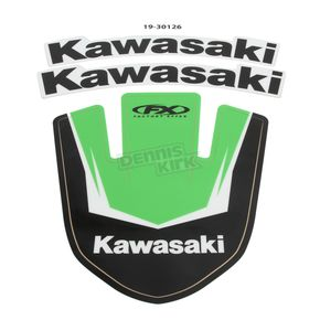 Factory Effex Kawasaki Front Fender Graphic Kit - 19-30126