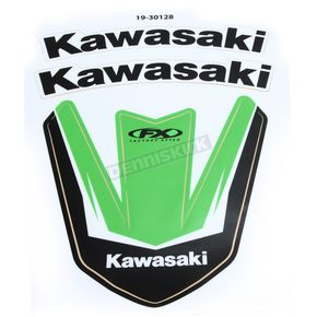 Factory Effex Kawasaki Front Fender Graphic Kit - 19-30128